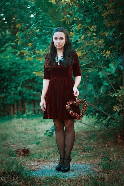 velvet miss patina dress