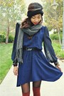 Sugarlips-dress-knitted-forever-21-scarf-h-m-socks-sandals-aldo-wedges
