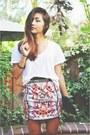 Bardot-skirt