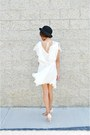 Eggshell-sugarlips-apparel-dress-black-bowler-hat-tan-choies-blazer