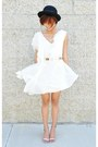 Eggshell-sugarlips-apparel-dress-black-bowler-hat-tan-choies-blazer