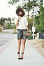 Tan-threadsencecom-hat-off-white-zara-shirt-black-strap-pointed-zara-heels