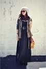 Black-zip-up-forever-21-boots-black-maxi-skirt-forever-21-skirt