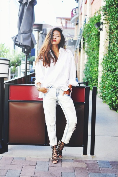 9de08ed72e3 White Zara Jeans, Camel Laces, Up Cheetah Zara Heels |