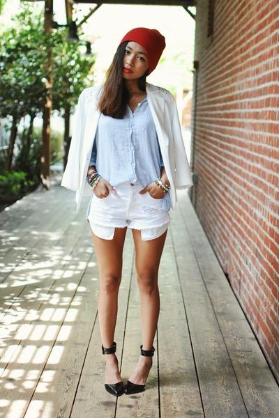 white Sugarlips blazer
