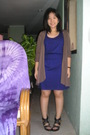 Brown-from-a-local-department-store-jacket-blue-topshop-dress-black-trunksho