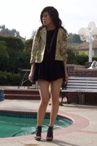 jacket - H&M dress - -