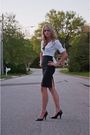 Black-express-skirt-white-express-blouse-black-expressxpress-shirt-silver-