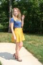 Gold-forever-21-skirt-floral-print-forever-21-heels