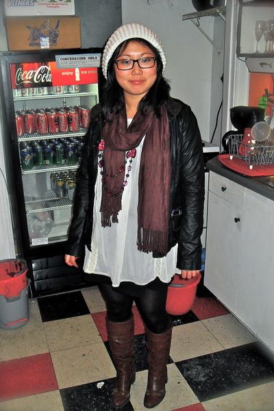 H&M dress - H&M jacket