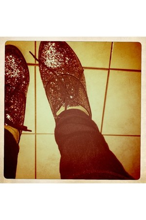 silver Forever 21 shoes