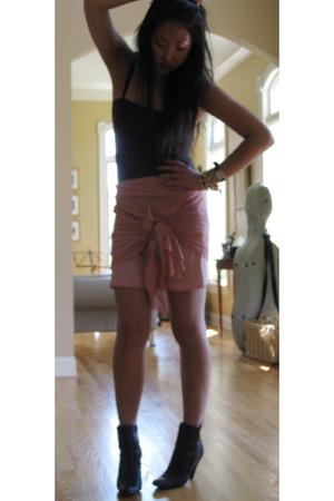 Guess skirt - Prada boots