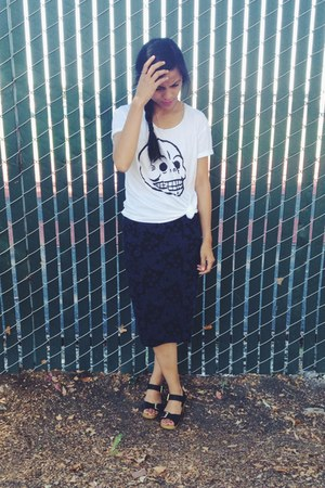 Cheap Monday t-shirt - Nordstrom skirt - new look clogs