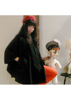jacket - hat - American Apparel tights