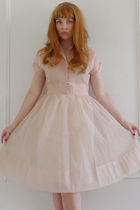 pink The Loved One dress