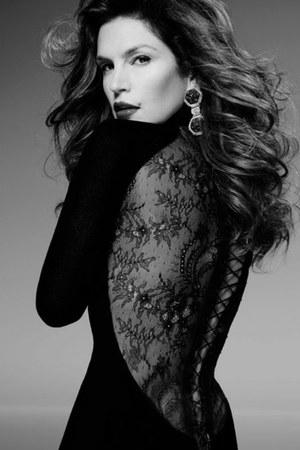 solid black Dolce & Gabbana dress