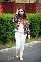 Mango jacket - sammydress shirt - Zara pants - Zara flats