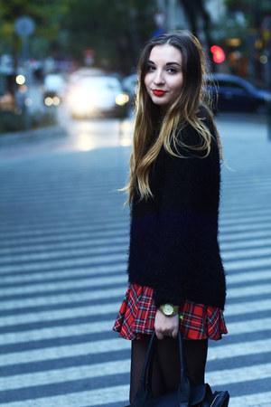 Mango boots - H&M sweater - Michael Kors watch