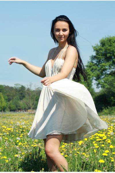 ivory H&M dress