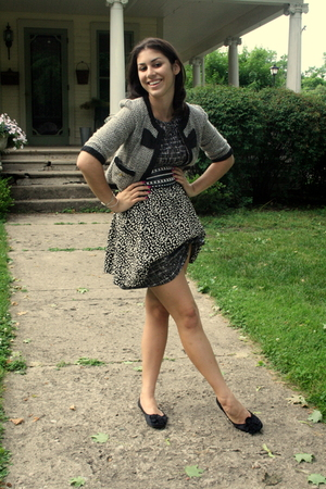 forever 21 dress - unknown jacket - forever 21 belt - Urban Outfitters skirt - f