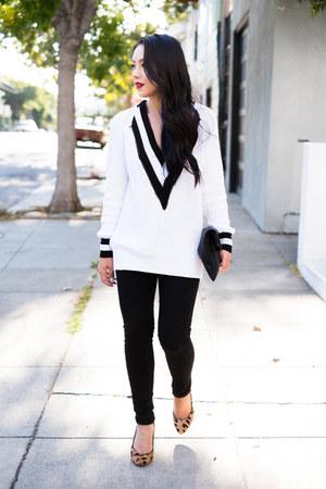 oversized ellison sweater - skinny jeans Henry & Belle jeans