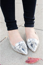 Silver-zara-loafers-skinny-henry-belle-jeans-jcpenney-shirt