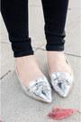 Silver-zara-loafers-skinny-henry-belle-jeans-jcpenney-shirt