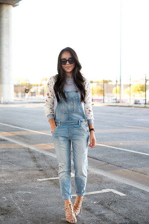 lace Tobi sweatshirt - overalls abercrombie and fitch jumper