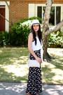 Fedora-river-island-hat-straw-ann-taylor-bag-maxi-charlotte-russe-skirt