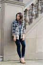 Skinny-jeans-henry-belle-jeans-plaid-jcpenney-shirt-leopard-madewell-heels