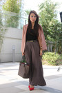 Rose-h-m-blazer-neverfull-louis-vuitton-bag-wide-leg-dorothy-perkins-pants