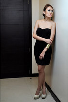 black Silhouette dress
