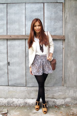 ivory Peace Love Fashion blazer