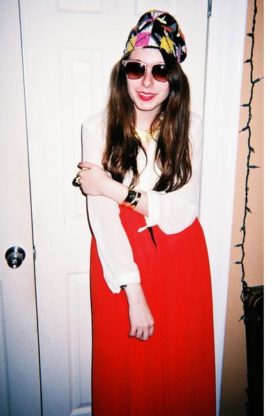 63342533cc pharaoh cuff Karen London bracelet - Jewel By Lisa hat - Forever21  sunglasses