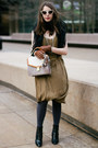 Brown-aldo-gloves-black-coye-nokes-boots-olive-green-club-monaco-dress