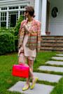 Light-pink-rebecca-minkoff-dress-hot-pink-rebecca-minkoff-bag