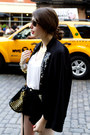 Black-sequined-talulah-sunrise-blazer-black-studded-rebecca-minkoff-bag