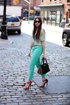shirt - Guess jeans - Rebecca Minkoff bag - sunglasses asos sunglasses