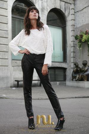 nu fashion pants - nu fashion blouse - Stylists own boots