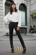 nu fashion pants - nu fashion blouse - Stylists own boots