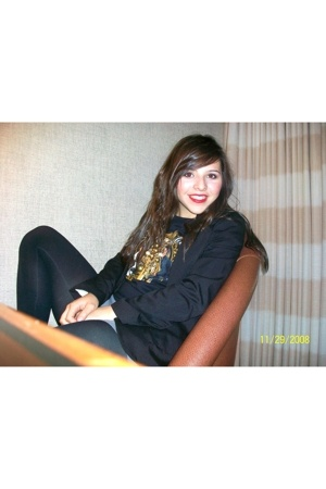 Target blazer - Target skirt - Nordstrom tights - shirt