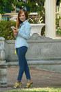 Skinny-jeans-forever-21-jeans-denim-jacket-tally-weijl-top