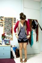 vest - f21 skirt - Zara