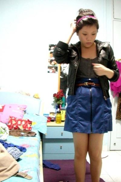 Topshop jacket - Soon Lee skirt - Topshop belt - random