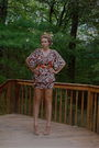 Vintage-70s-safari-dress-cynthia-vincent-for-target-vintage-h-m-diy