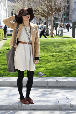 laurel blazer - beige dress