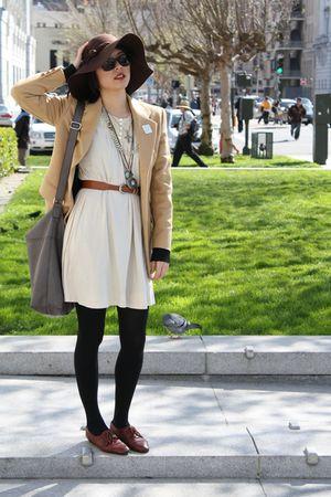 laurel blazer - beige dress
