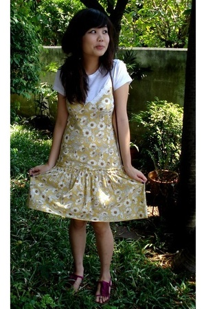 CC Double O dress - shirt - Topshop shoes - aignermom purse