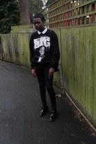Urban Outfitters jumper - Doc Marten shoes - Topshop jeans - Topshop shirt