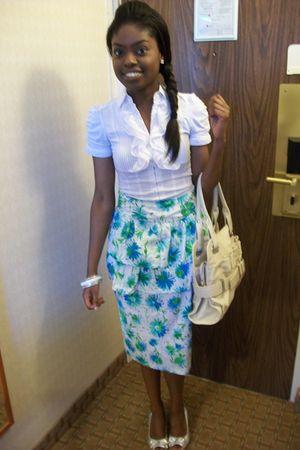 Handmade by moi skirt - Stush Boutique blouse